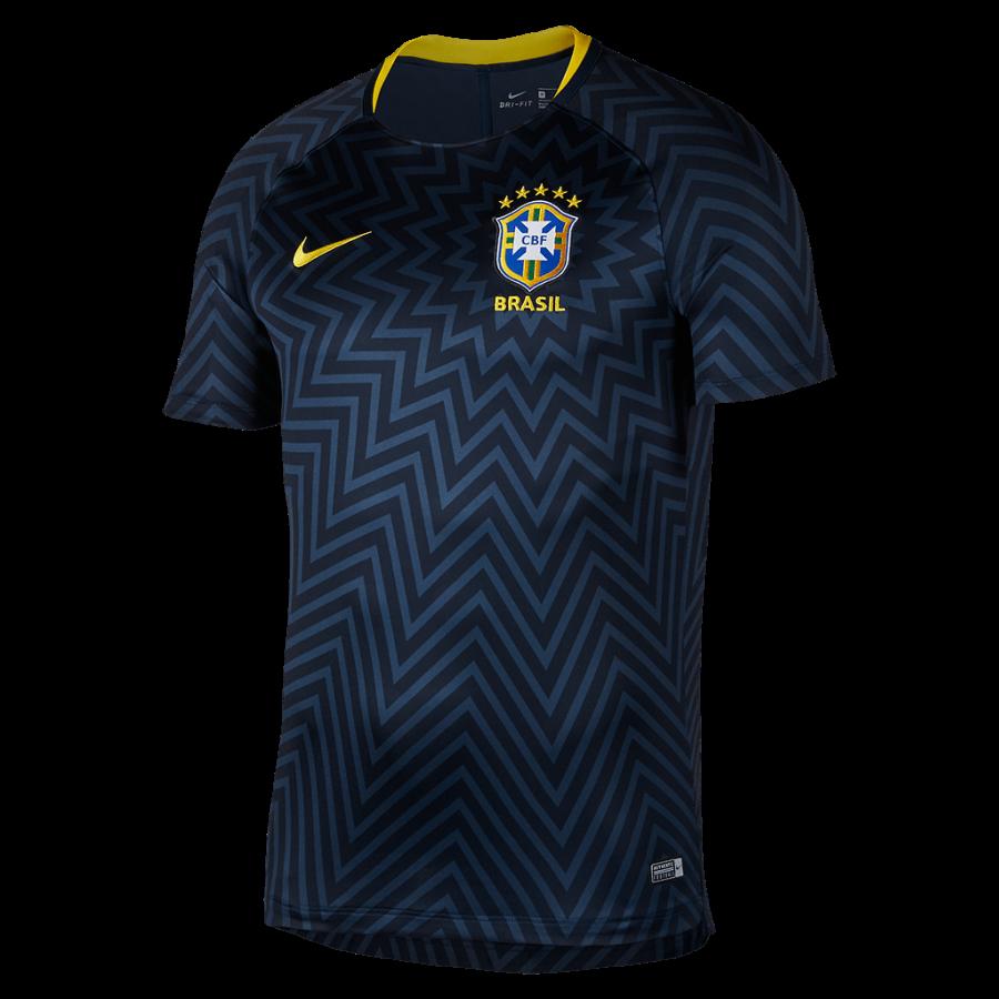 Camisa Pré-Jogo Nike Bras