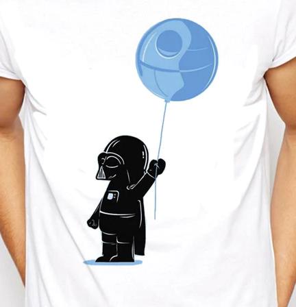 Camiseta Darth Vader Balão