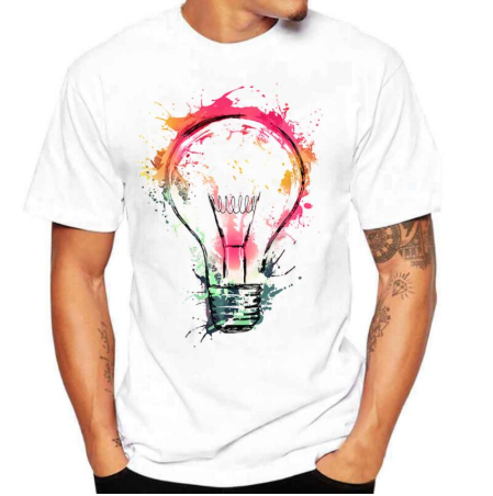 Camiseta Idea - Branca