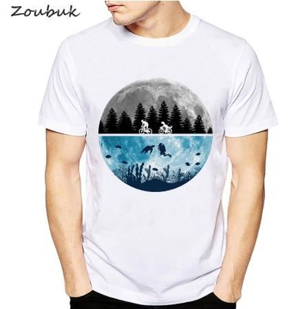 Camiseta Terra Lua Oceano